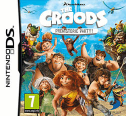 The Croods: Prehistoric Party! DSi and DS Lite Cover Art