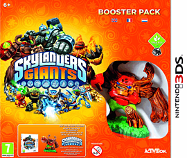 Skylanders Giants Booster Pack Nintendo 3DS Cover Art