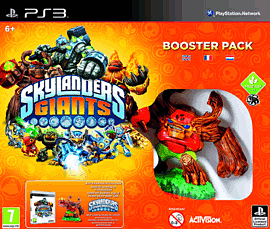 Skylanders Giants Booster Pack Sony PS3 Cover Art