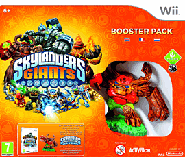 Skylanders Giants Booster Pack Nintendo Wii Cover Art