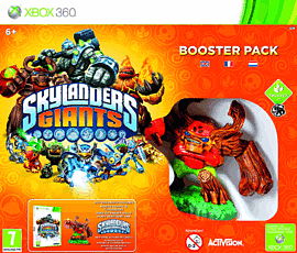 Skylanders Giants Booster Pack XB 360 Cover Art
