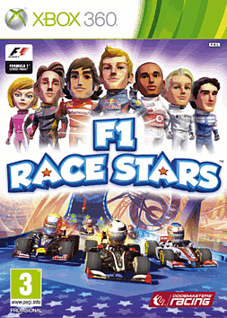 F1 Race Stars Xbox 360 Cover Art