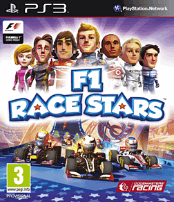 F1 Race Stars PlayStation 3 Cover Art