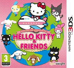 Around the World with Hello Kitty & Friends 3DS Cover Art