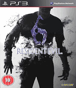 Resident Evil 6 Steelbook Edition PlayStation 3 Cover Art