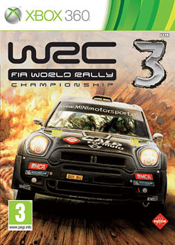 WRC 3 Xbox 360 Cover Art
