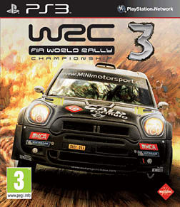 PS3 WRC 3 PlayStation 3 Cover Art
