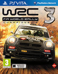 WRC 3 PS Vita Cover Art