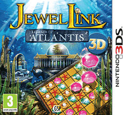 Jewel Link: Legends of Atlantis 3DS Cover Art