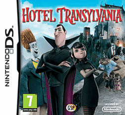 Hotel Transylvania DSi and DS Lite Cover Art