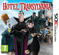 Hotel Transylvania 3DS Cover Art