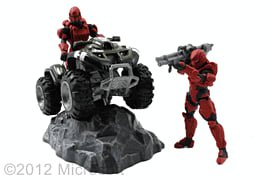 Halo Mongoose with Figures Toys and Gadgets