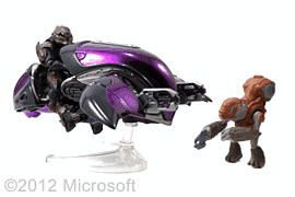 Halo Ghost with Figures Toys and Gadgets