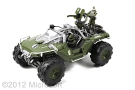 Halo Warthog with Figures Toys and Gadgets