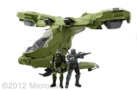 Halo Hornet with Figures Toys and Gadgets
