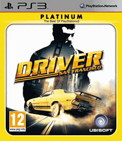 Driver San Francisco - Platinum PlayStation 3 Cover Art