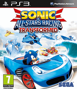 Sonic & All-Stars Racing Transformed PlayStation 3 Cover Art