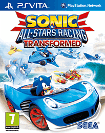 Sonic & All-Stars Racing Transformed PS Vita Cover Art