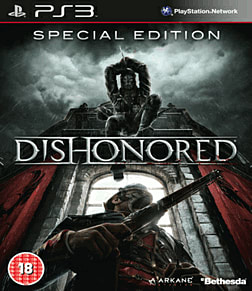 Dishonored: GAME Exclusive Special Edition PlayStation 3 Cover Art