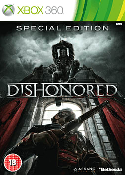 Dishonored: GAME Exclusive Special Edition Xbox 360 Cover Art