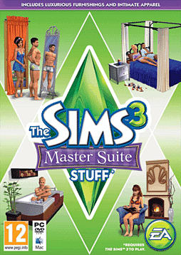 The Sims 3: Master Suite Stuff PC Games Cover Art