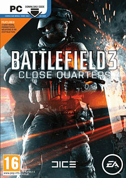 Battlefield 3: Close Quarters PC Games Cover Art
