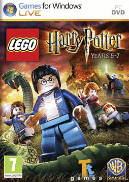 LEGO: Harry Potter Years 5-7 PC Games Cover Art