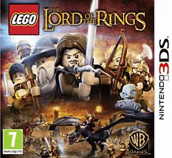 LEGO Lord of the Rings 3DS Cover Art