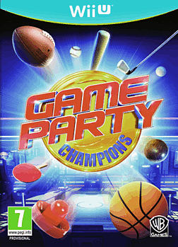 Game Party Champions Wii U Cover Art