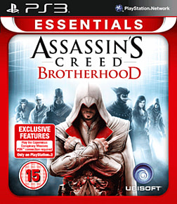 PS3 ASS CREED BROTHER ESS PlayStation 3 Cover Art