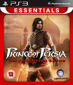 Prince of Persia: The Forgotten Sands (PS3 Essentials) PlayStation 3 Cover Art
