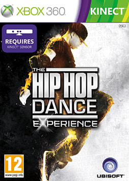 The Hip Hop Dance Experience Xbox 360 Kinect Cover Art
