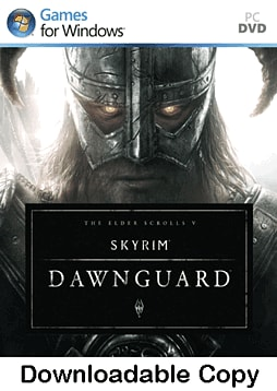 The Elder Scrolls V: Skyrim - Dawnguard PC Games Cover Art