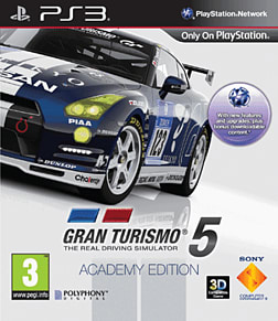 Gran Turismo 5 Academy Edition PlayStation 3 Cover Art