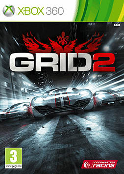 GRID 2 Xbox 360 Cover Art