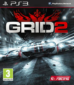 GRID 2 PlayStation 3 Cover Art