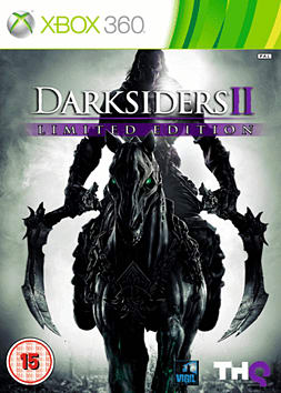 Darksiders II Limited Edition with Argul's Tomb Expansion Map Xbox 360 Cover Art