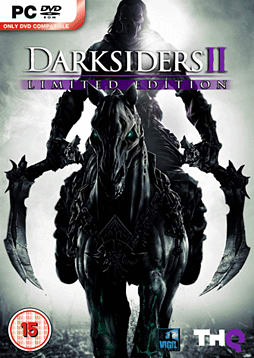 Darksiders II Limited Edition with Argul's Tomb Expansion Map PC Games Cover Art