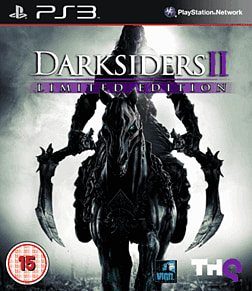 Darksiders II Limited Edition with Argul's Tomb Expansion Map PlayStation 3 Cover Art