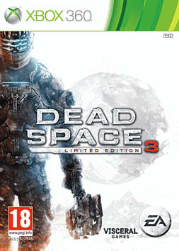 Dead Space 3 Exclusive Limited Edition Xbox 360 Cover Art