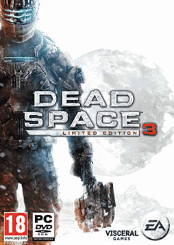 Dead Space 3 Exclusive Limited Edition PC Games Cover Art