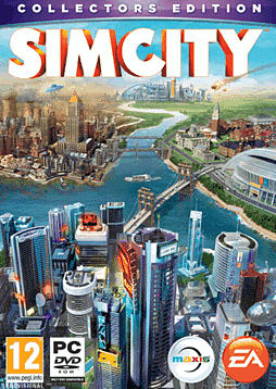 SimCity GAME Exclusive Collector's Edition PC Games Cover Art