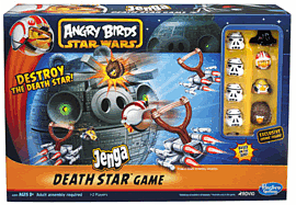 Angry Birds Star Wars Jenga Death Star Game Toys and Gadgets