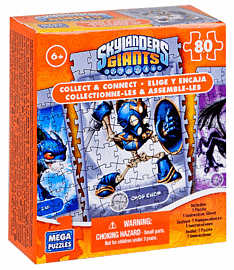 Skylanders Giants Mega Puzzles 80-Piece Collectible Jigsaw Toys and Gadgets