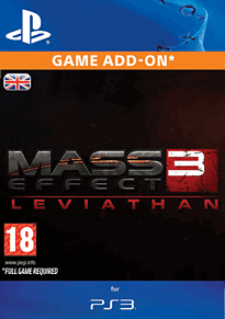 Mass Effect 3: Leviathan PlayStation Network Cover Art