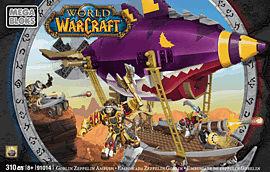 World of Warcraft Mega Bloks: Goblin Zeppelin Ambush Toys and Gadgets