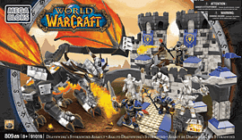 World of Warcraft Mega Bloks: Deathwing's Stormwind Assault Toys and Gadgets