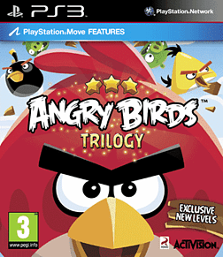 Angry Birds PlayStation 3 Cover Art