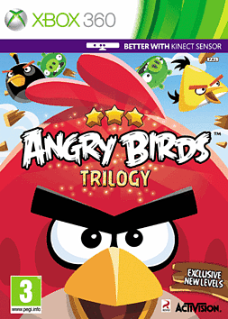 Angry Birds Xbox 360 Cover Art
