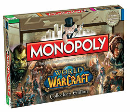 World of Warcraft Monopoly Toys and Gadgets 